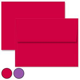 Solid Color A2 Envelopes