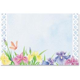 Iris Party Crescent Envelopes