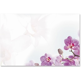 Orchid Crescent Envelopes