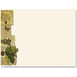 Wine Tasting Crescent Envelopes