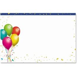 Happy Balloons Crescent Envelopes
