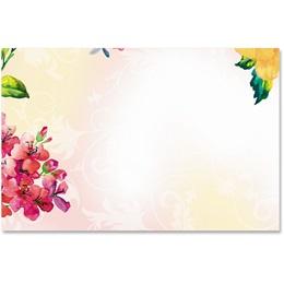 Brilliant Bouquet Crescent Envelopes