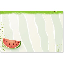 Watermelon Party Crescent Envelopes