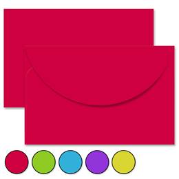 Solid Color Crescent Envelopes