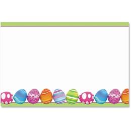Colorful Eggs Crescent Envelopes