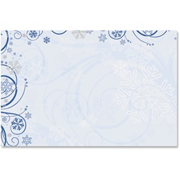 Winter Waltz Crescent Envelopes