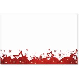 Red Gala Crescent Envelopes