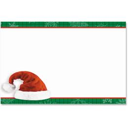 Santa's Hat Crescent Envelopes