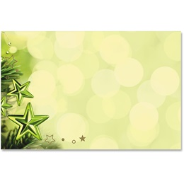 Holiday Peridot Crescent Envelopes