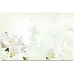 Graceful Lilies Crescent Envelopes