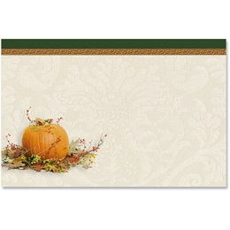 Harvest Flourish Crescent Envelopes