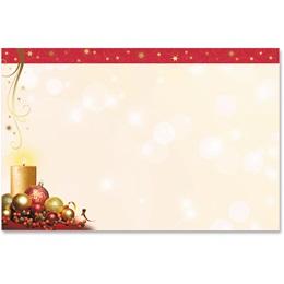 Enchanted Christmas Crescent Envelopes