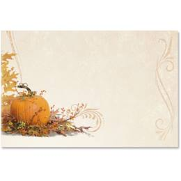 Splendid Autumn Crescent Envelopes