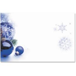 Sapphire Christmas Crescent Envelopes
