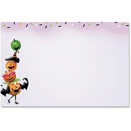Spooky Pumpkins Crescent Envelopes