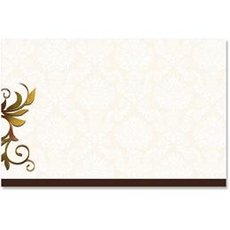 Thanksgiving Dinner Crescent Envelopes
