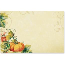 Pumpkin Spice Crescent Envelopes