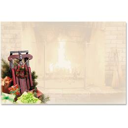 Christmas Memories Crescent Envelopes