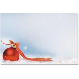 Simple Christmas Crescent Envelopes