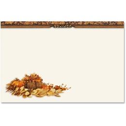 Fall Harmony Crescent Envelopes