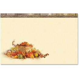 Autumn Treasures Crescent Envelopes