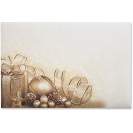Holiday Package Crescent Envelope