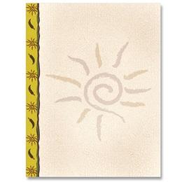 Swirly Sun Letterhead
