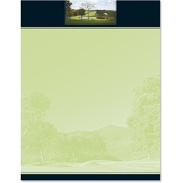 Country Club Letterhead