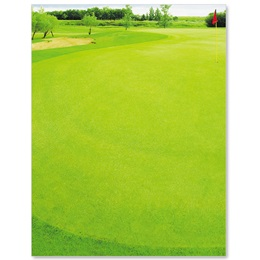 Front Nine Light Green Letterhead