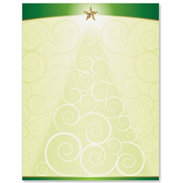 Christmas Tree Glee Letterhead