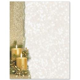 Golden Glimmer Letterhead