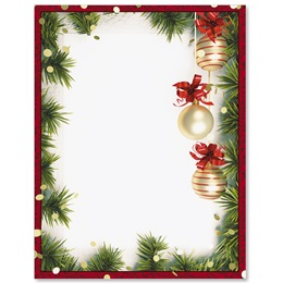 Christmas Twilight Border Paper