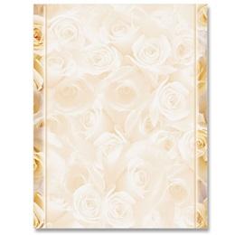 Cream Roses Letterhead
