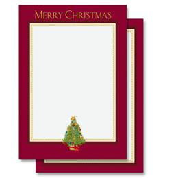O Christmas Tree Newsletters