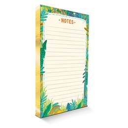 Tropical Gilded Notepad