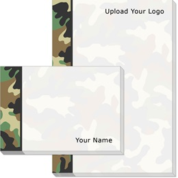 Camouflage Post-it Notes