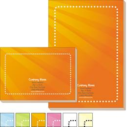 Coupon Border Post-it Notes