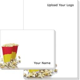 Movie Popcorn Post-it Notes