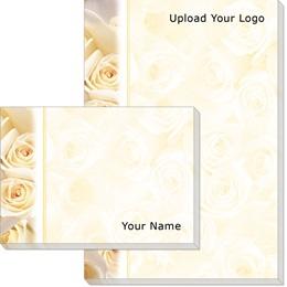 Cream Roses Post-it Notes