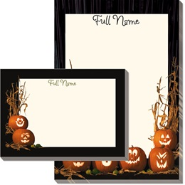Pumpkin Parade Post-it Notes