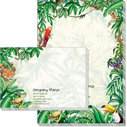 Rain Forest Post-it Notes