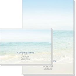 Seashore Scene Post-it Notes