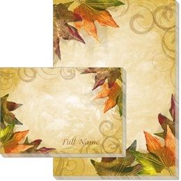 Fall Brilliance Post-it Notes
