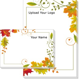 Fall Freshness Post-it Notes
