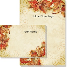 Vintage Fall Post-it Notes