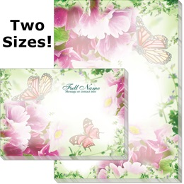Primrose and Butterflies Post-it Notes
