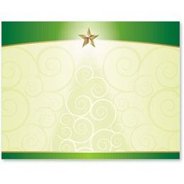 Christmas Tree Glee Postcards