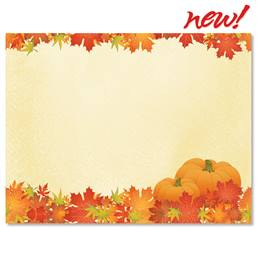 Pretty Pumpkins Postcards