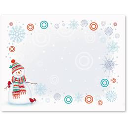 Snowman Delight Postcards