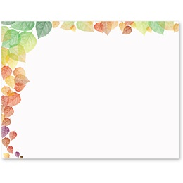 Lace Leaves Postcards